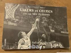 Lakers Vs Celtics Sega Megadrive Pal Version Très Rare