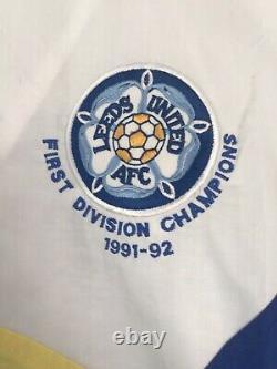 Leeds United 1992 Limited Edition Première Division Champions Tracksuit Très Rare
