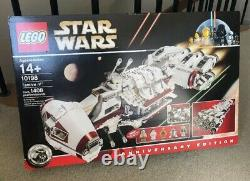 Lego Star Wars Limited Edition Tantive IV 10198 Brand New Sealed Très Rare