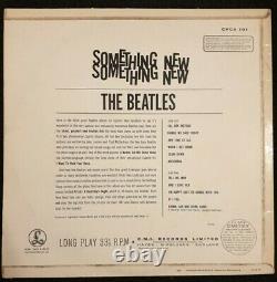 Les Beatles Quelque Chose De Nouveau Très Rare 2ème Uk Press Export Edition 1964 Lp
