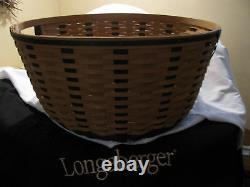 Longaberger Tour Avec Moi Panier Très Rare 2011 New Limited Edition
