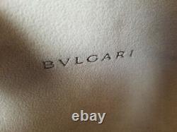 Lunettes De Soleil Bvlgari Swarovski Crystal Edition Limitée Noir Euc Very Rare