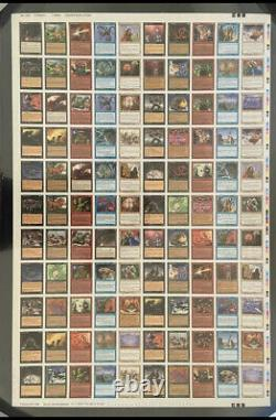 Magic Gathering Mtg 5e Édition Uncut Sheet Commons! Bleu
