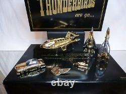 Matchbox Thunderbirds Are Go Special Gold Edition Très Rare Bon En Boîte