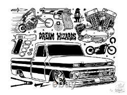 Mike Giant Dream Wizards Edition Limitée Imprimer Monnaie / Vendu! Très Rare