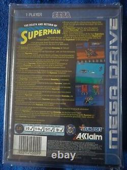 Mort Et Retour De Superman Sega Mega Drive Pal Version Très Rare