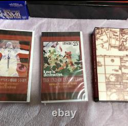 Neon Genesis Evangelion Movie Box First Limited Edition Vhs Très Rare Japan F/s