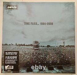 Neuf Très Rare Temps Oasis Flies Simple 1994- 2009 Vinyle Ltd Boîte Édition