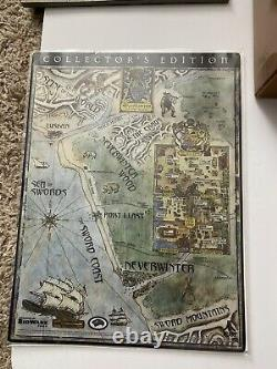 Neverwinter Nights Collectors Editionpcssi Ad&extremely Rare Très Large Box