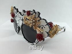 New Dolce & Gabbana Dg4275h Piste Style Édition Limitée Lunettes De Soleil Très Rare