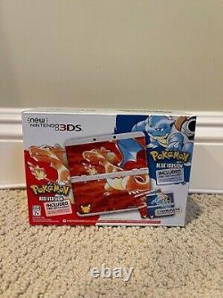 Nintendo 3ds Pokemon 20th Anniversary Edition Très Rare Nouveau Unopened