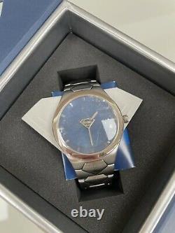 Nouvelle Marque Fossil Superman Watch Li2230 Edition Limitée De 3000 Très Rare