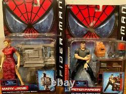 Nouvelle Version De Film Spider Man American Comics Figure 11 Ensemble D'espèces Très Rare