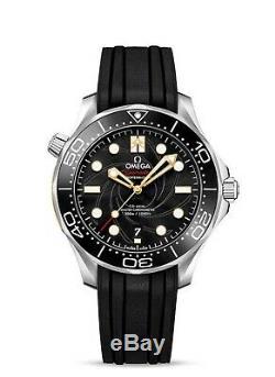 Omega Seamaster Diver 300m James Bond 007 Limited Edition Noir Jpn Jp Très Rare