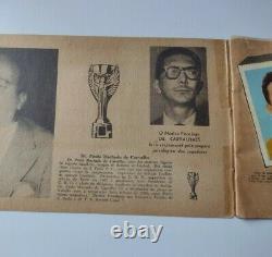 Pele Rookie 1958 Aquarela Álbum Première Edition Complète Très Rare