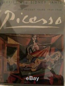 Picasso Dernières Années Première Édition Psa / Adn Signé Par Picasso Très Rare