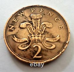 Pièce Très Rare 1971 New Pence First Edition