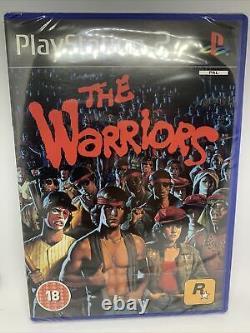 Playstation 2 Ps2 Les Guerriers Nouvelle Et Scellée Pal Uk Version Très Rare