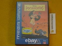 Pocahontas Sega Mega Drive MD Pal Version New Very Rare Top Rare Game Disney's