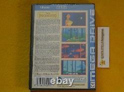 Pocahontas Sega Mega Drive Pal Version Nouveau Très Rare Neu Nuevo Neuf Top