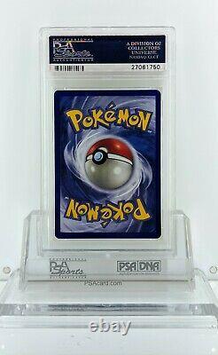 Pokemon 1999 Bisaflor Psa 9 Holo 1ère Édition Allemande (très Rare)