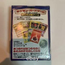 Pokémon Cartes Deck De Démarrage Usine Scellé 1996 Très Rare Première Édition Japon