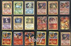 Pokemon Go Tcg 16 Card Lot Set Rares, 1ère Édition, Holos, Charizard Garanti