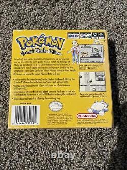 Pokemon Special Pikachu Edition Version Jaune Jeu Boy Empty Box Seulement Très Rare