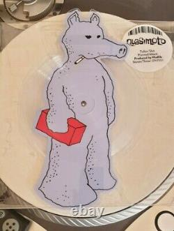 Quasimoto Talkin Shit Die Cut Picture Disc Light Blue Quas Version Très Rare