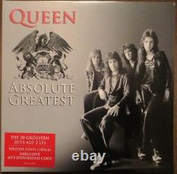 Queen Absolute Plus Grand Limited Edition Vinyl Blanc Marque Nouveau Scelled Très Rare