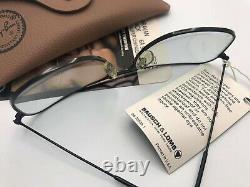 Ray Ban Caravan Black Vintage Bausch Et Lomb Edition Lunettes De Soleil 58mm Très Rare