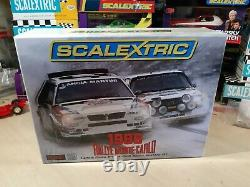 Scalextric C3480a Edition Limitée Rallye Monte-carlo Neuf Très Rare