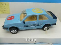 Scalextric Très Rare Nscc Ford Escort Édition Limitée De 80