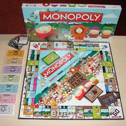 Southpark Monopoly Édition Edition Collector (scellé Tout Neuf) Très Rare