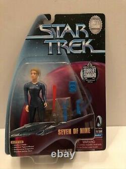 Star Trek Playmates Seven Of Nine International Australia Edition 1999 Très Rare