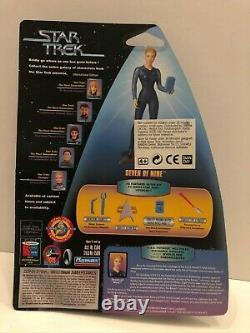 Star Trek Playmates Seven Of Nine International Uk Edition 1999 Très Rare