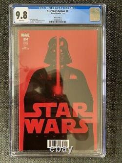 Star Wars Annual 4 Cgc 9,8 125 John Tyler Christopher- Très Rare Jtc Variant