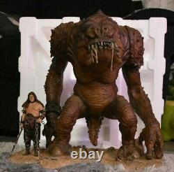 Star Wars Gentle Giant Limited Edition Rancor Statue Avec Handler Very Rare Rotj