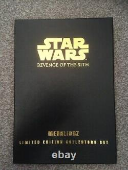 Star Wars Revenge Of The Sith Medalionz Edition Limitée Cuivre Very Rare