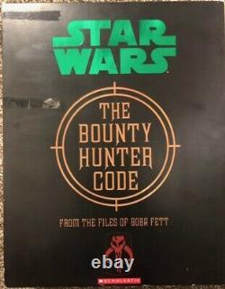 Star Wars The Bunty Hunter Code Boba Fett Mandalorian Valult Édition Tres Rare