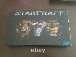 Starcraft Collector's Edition Pc Big Box Blizzard Entertainment Très Rare