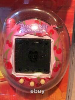 Tamagotchi Version 3 Rose Avec Cerises Nouveau En Emballage Très Rare