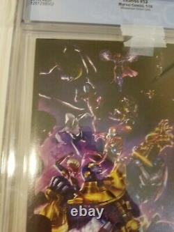 Thanos #13 Cgc 9.6 125 Albuquerque Variante 1er Cosmic Ghost Rider Very Rare