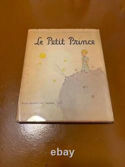 The Little Prince 1ère Impression/ 1ère Édition (très Rare)