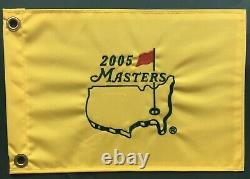 Tiger Woods Limited Edition Very Rare 2005 Masters Signé Avec Authentification
