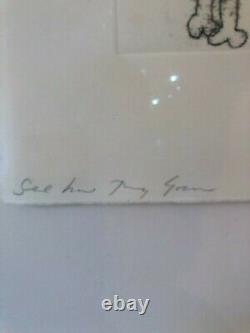 Tracey Emin'voyez Comment Ils Grandissent'2010, Édition Imprimée Signée, Très Rare