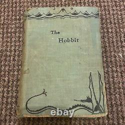 Très Rare 1937 Première Édition Deuxième Impression Du Hobbit Par J. R. R. Tolkien