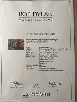 Très Rare Bob Dylan Brooklyn Heights Signé Édition Limitée (epuisé)