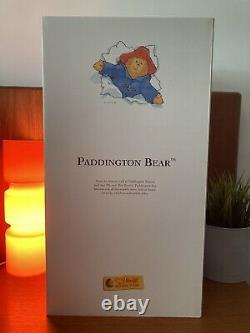 Très Rare Boxed Steiff Paddington Rainy Days Limited Edition 354311. Bnib. Nos