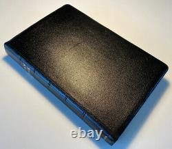 Très Rare Cambridge King James Version Sainte Bible, Fine Pinseal Maroc Cuir